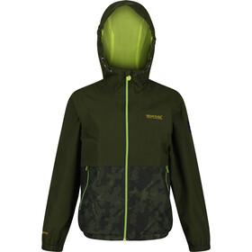 Regatta Haskel Jacket Kids, groen